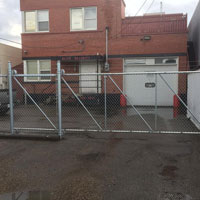 Chain Link Cantilever Slide Gate